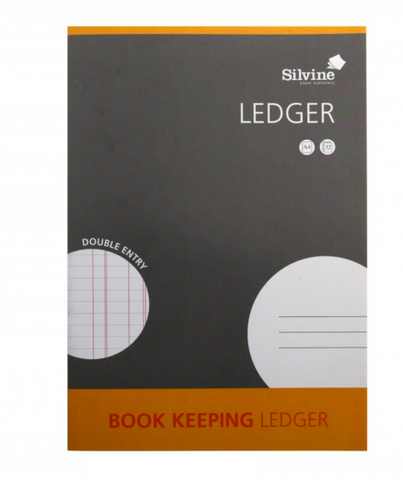 Silvine Ledger Book Keeping A4