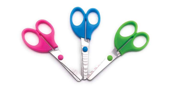 Office scissors 3 pack