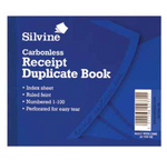 Duplicate Recipt Book