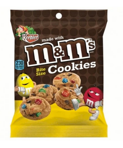 Keebler Deluxe M & M Minis Cookies 1.6oz small bags