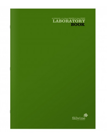 Silvine A4 Laboratory Book