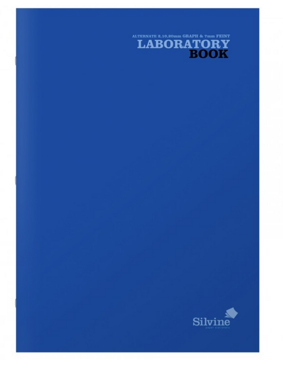 Silvine A4 Laboratory Book 75gsm 80 Page 2 10 20mm