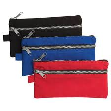 Pencil Case - Nylon Chunky Zip