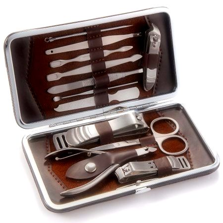 12pcs Nail Care Cutter Kit