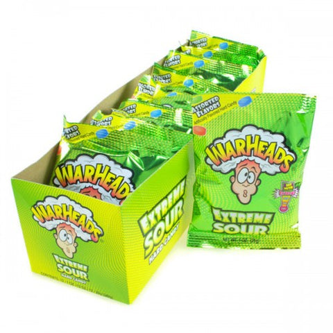Warheads Extreme Sour Hard Candy 1oz 12 Pack