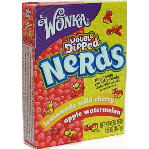 Wonka Nerds Double Dipped 1.65oz 36 Pack