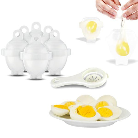 [Pre-Sale] Hard Boiled Egg Cooker (6 Pack) With Bonus Egg White Separator