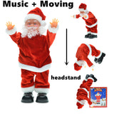 Dancing Electric Santa Claus