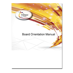 BOARD ORIENTATION MANUAL