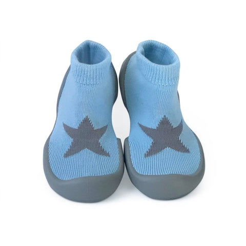 Image of Rainbow Step Ons Crawling, Cruising, Pre-Walking Baby Sock Shoe