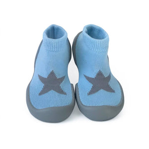 Yellow Chick Step Ons Crawling, Cruising, Pre-Walking Baby Sock Shoe