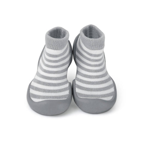 Step Ons Crawling, Cruising, Pre-Walking Baby Sock Shoe Blue