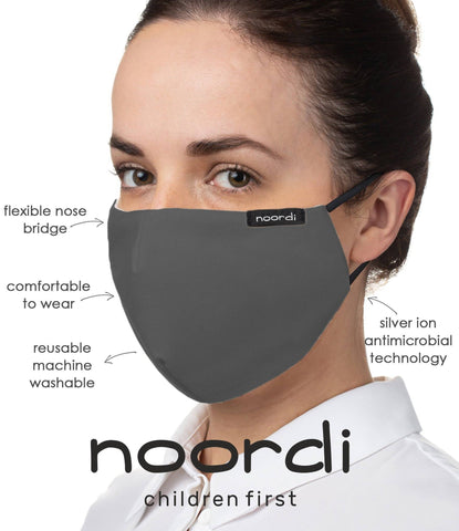 Image of Noordi® Antimicrobial Child and Adult Face Masks
