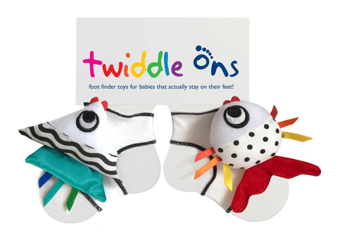 Twiddle Ons Foot Discovery Rattle Toys