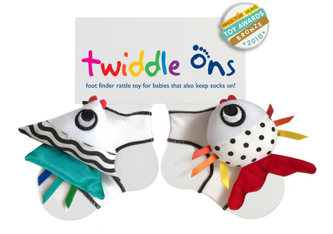 Image of Twiddle Ons Foot Finder Toys TRADE