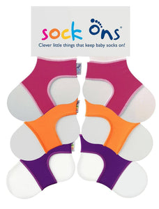 3pk BW Sock Ons Multi Pack SAVE!
