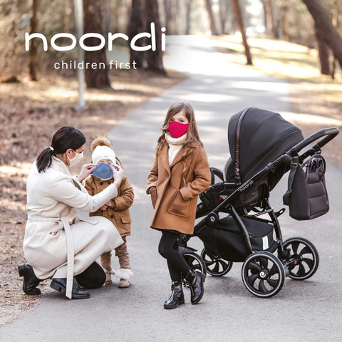 Image of Noordi® Antimicrobial Adult and Child Face Masks