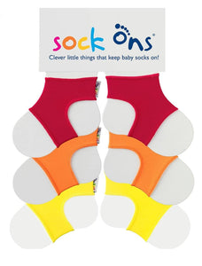 3pk Sock Ons Multi Pack SAVE!