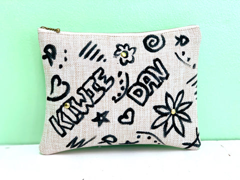 Black Kiwie Clutch
