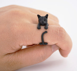 Cute Cat Rings