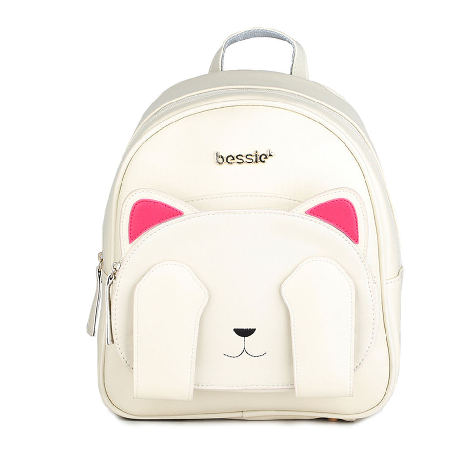 Adorable Kitty Leather Backpacks
