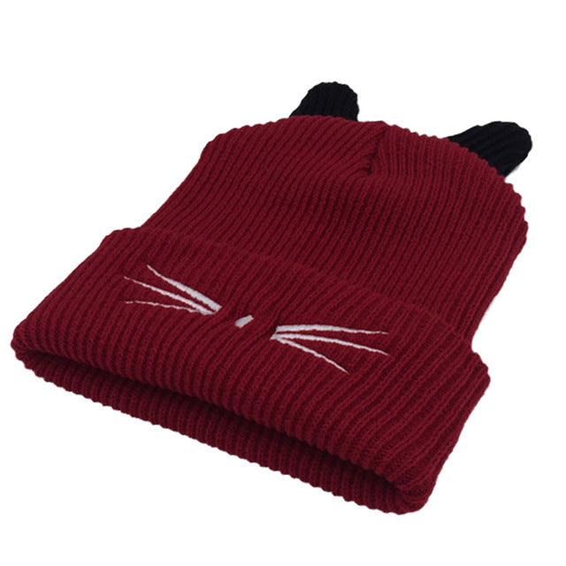 Limited Edition Fluffy Cat Ear Beanies