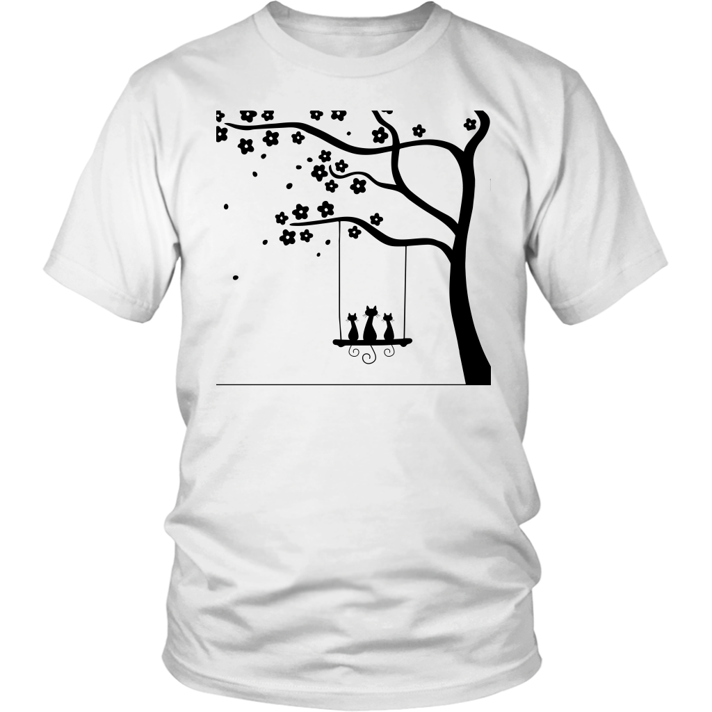 Kitties On A Swing T-Shirt