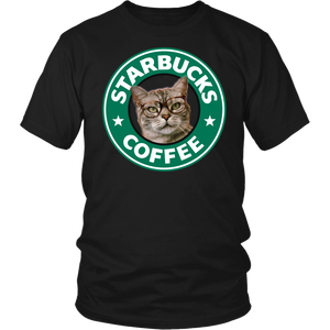 Starbucks Cat T-Shirt