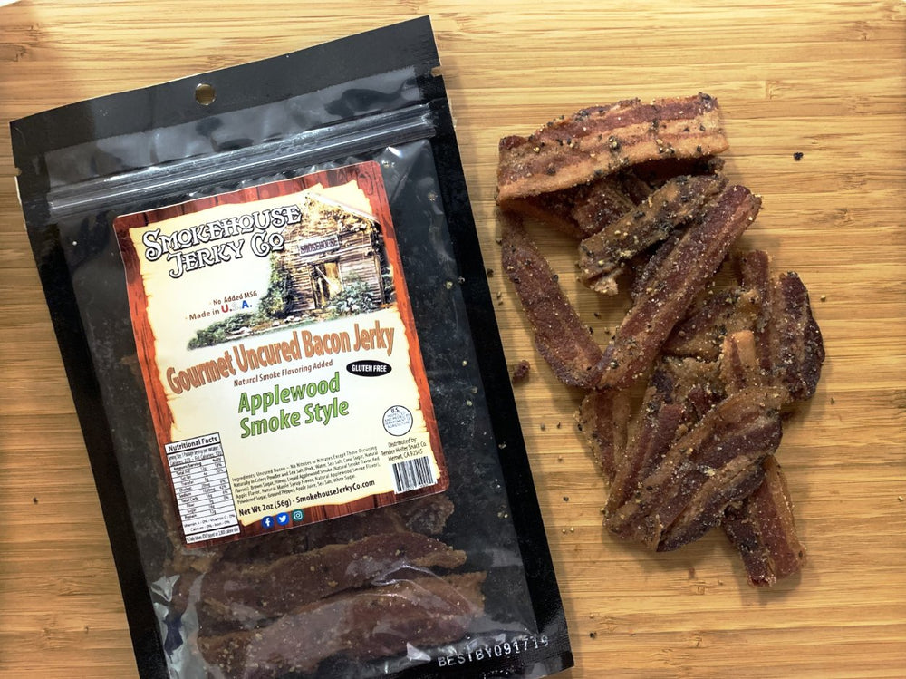 Applewood Smoked Bacon Jerky (GLUTEN FREE)