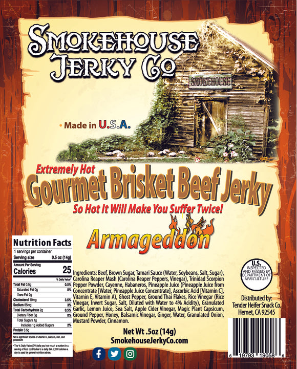 worlds hottest jerky