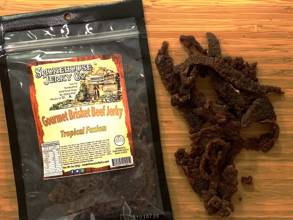 Tropical Fusion (Mango-Pineapple) Brisket Beef Jerky
