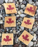 Canadian Outdoor Adventure Drink Coasters