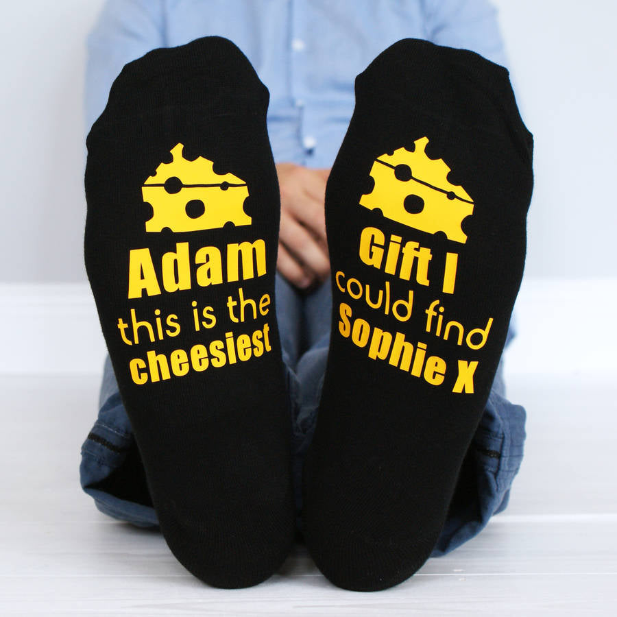 Cheesy Socks