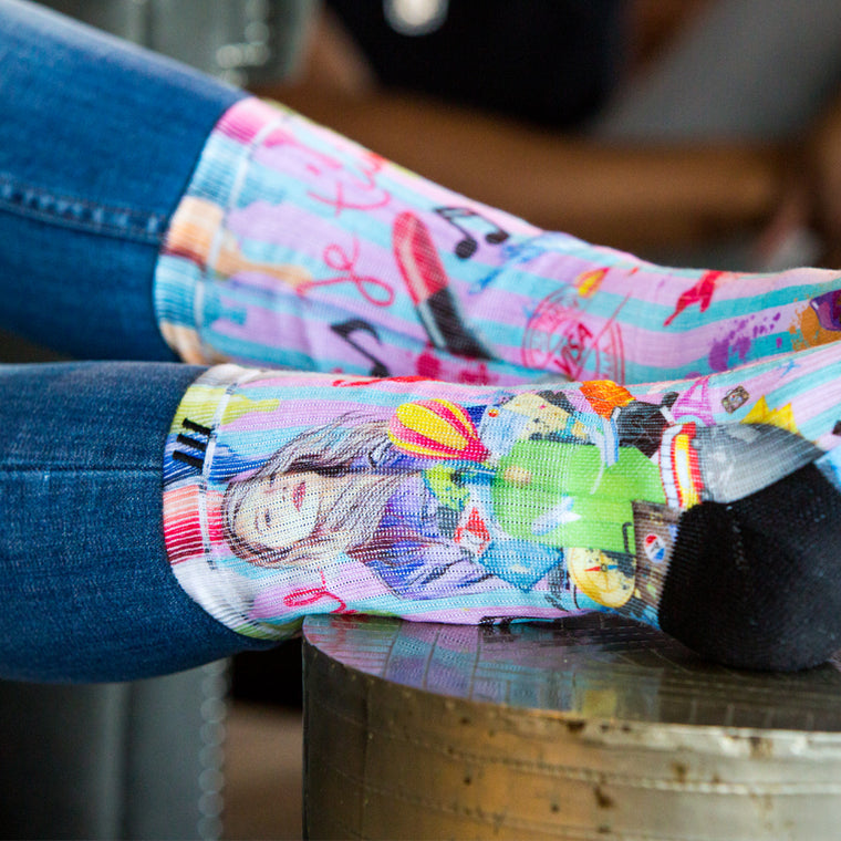 Custom Socks Printing