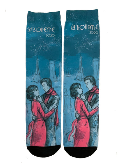 La Boheme 2020 Dress Socks