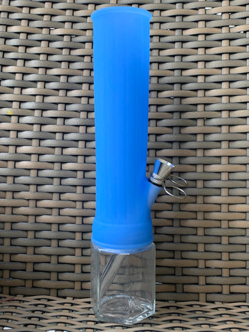 5 Inch Blue Silicone Bong From Me Time Box