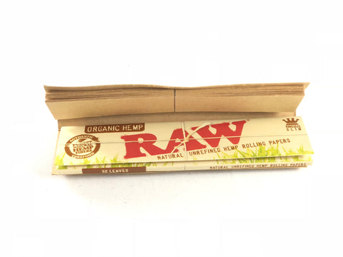 RAW all natural hemp papers are great for RAW cone tips so that you can have a filter for your next smoke session.