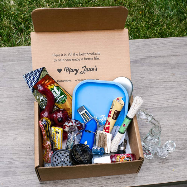 The Me Time Box subscription is the signature product of Me Time Box Products, where you can find all of the highest quality glass pipe and smoking essential items for the best prices.
