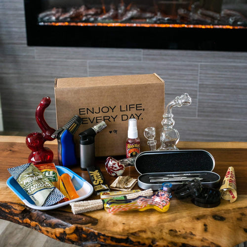 Try this stuffed smoking subscription box with no strings attached and free shipping!