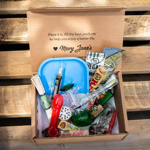 Get a smoking subscription box without subscribing. Try the Me Time Box now and see why it's the top rated gift for smokers!