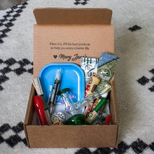 Sign up for a monthly stoner box from Me Time Box Products and get a free glass pipe too!