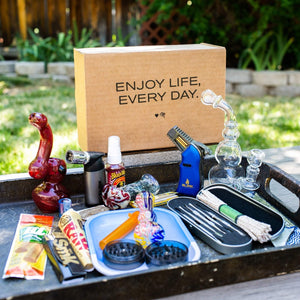 The original Me Time Box is the best stoner subscription boxes.