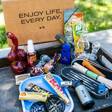 Sign up and save on the original monthly smoking subscription box from Me Time Box Products.