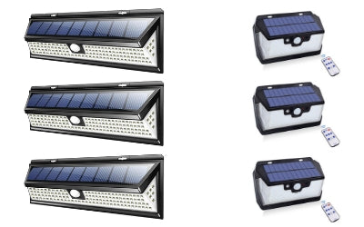 Solar 118 LED 1000LM + 55 LED 800LM Bundle Offer