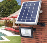 Flood Solar Light With Remote Control 1500LM