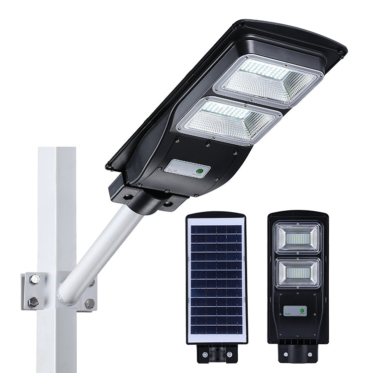 120 LEDs Solar Street Light 60W Motion Sensor + Light Control