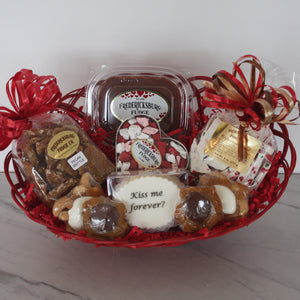 Valentine Fudge and Candies