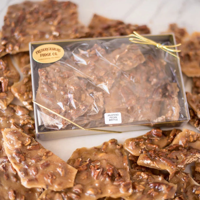 Jalapeno Pecan Brittle Box (9 oz.)