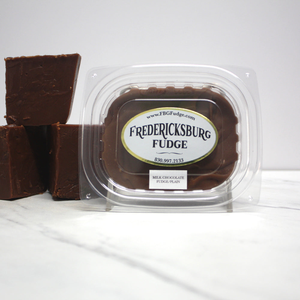 Milk Chocolate Fudge Plain (8 oz.)