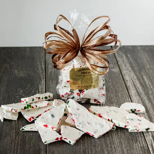 Peppermint Bark Bag, Red and Green (8 oz.)